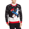 Snowmen throw a Ski Party Holiday Sweater