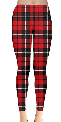 Lumberjack Christmas Leggings