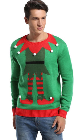 Elf Me Ugly Christmas Sweater
