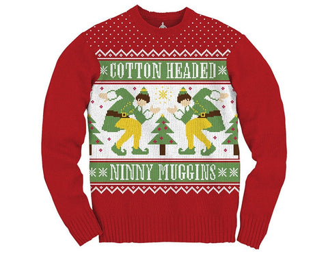 Men's Ninny Muggins Ugly Christmas Sweater