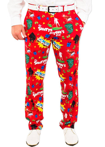 S! was Full Christmas Suit Pants