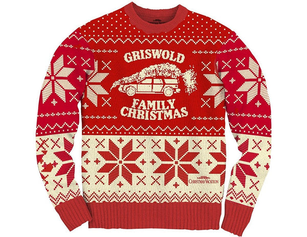 mens griswold family vacation christmas sweater - Griswold Ugly Christmas Sweater