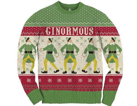 Men's Ginormous Ugly Christmas Sweater