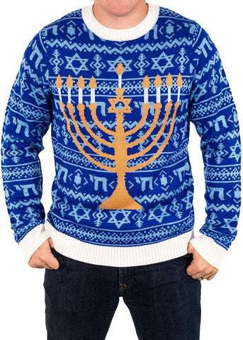 Men's Chanukah Ugly Hanukkah Sweater