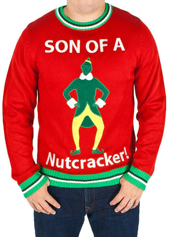 Men's Son of a Nutcracker Ugly Christmas Sweater