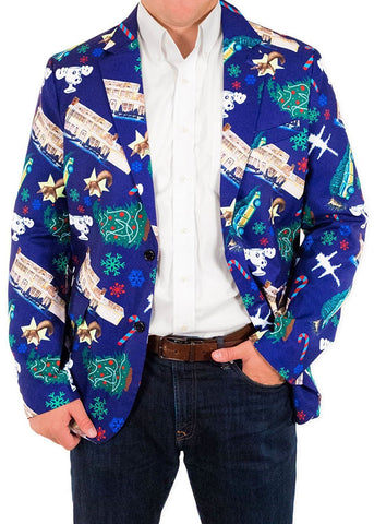 Griswoldacious Christmas Suit Coat and Tie