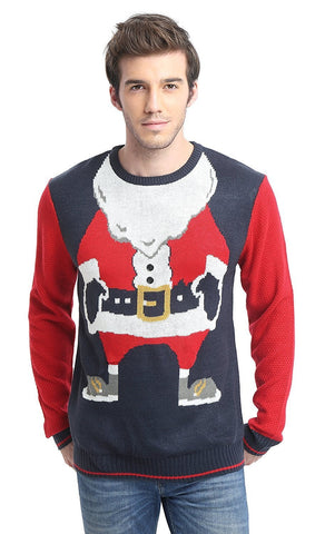 Santa's Body Ugly Christmas Sweater