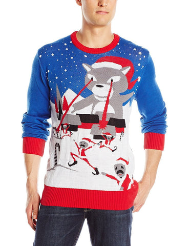 Cat Attack Ugly Christmas Sweater