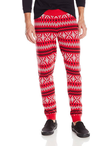 Faire Isle Christmas Jogger Pants