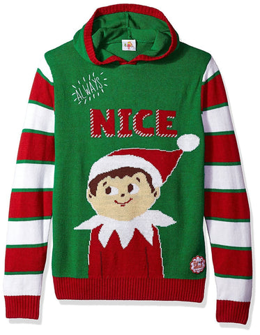 Always Nice Hoodie Christmas Sweater