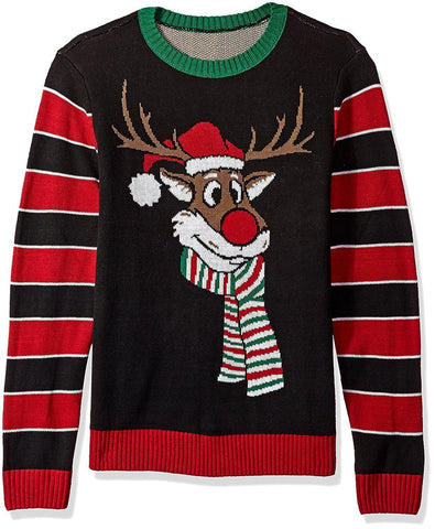 Reindeer Poopermints Ugly Christmas Sweater