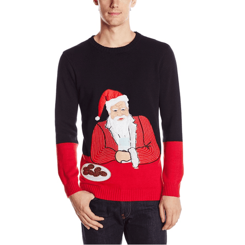 The Most Interesting Santa in the World Sweater