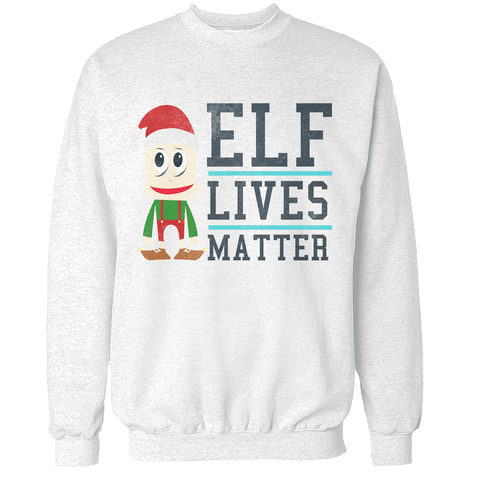 Elf Lives Unisex Sweatshirt