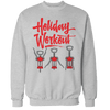 Holiday Workout Unisex Sweatshirt