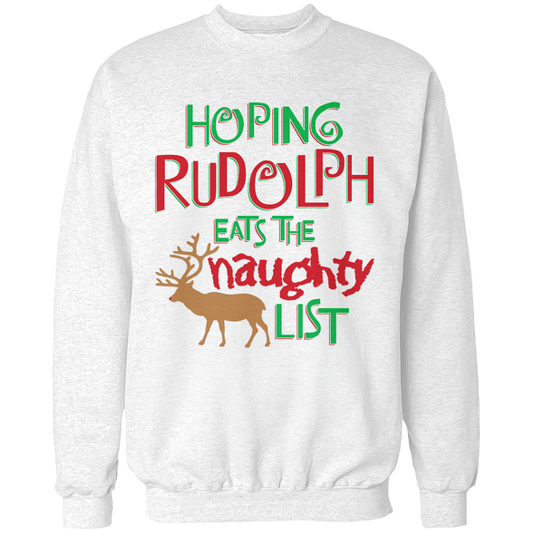 Hoping Rudolph Unisex Sweatshirt