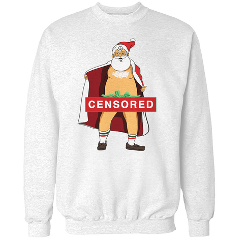 Santa (Censored) Unisex Sweatshirt