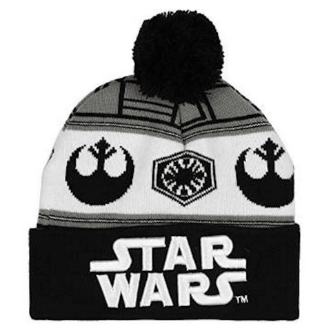 The Force Awakens Versus Fair Isle Knit Beanie Hat