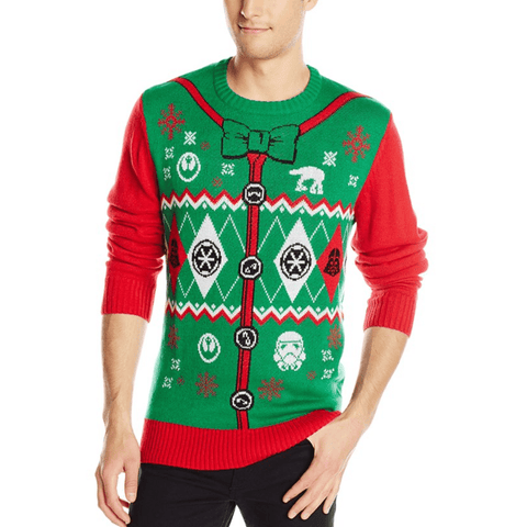 Star Wars Stargyle Sweater Ugly Christmas Sweater