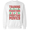 Training For Christmas Unisex Sweatshirt