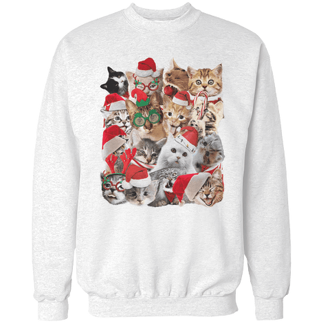 Cat Christmas Unisex Sweatshirt