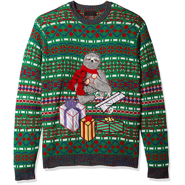 Sloth Christmas Presents UNISEX Sweater