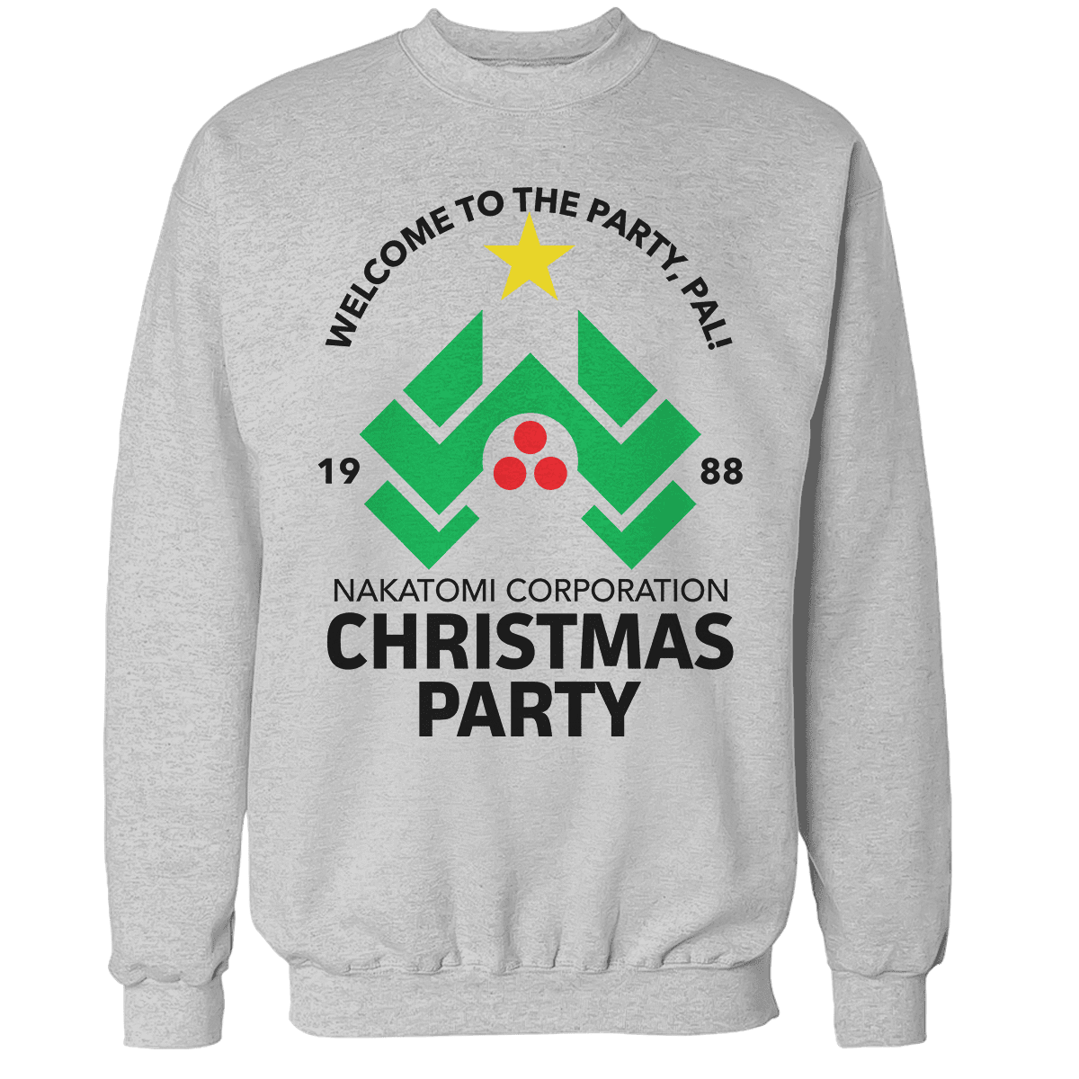 die hard christmas party unisex sweatshirt die hard christmas party unisex sweatshirt