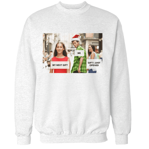 Distracted Boyfriend - Meme Unisex Sweatshirt
