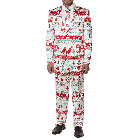Winter Holiday Christmas Suit
