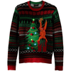 LED Light Up Orangutan Christmas Tree UNISEX Sweater
