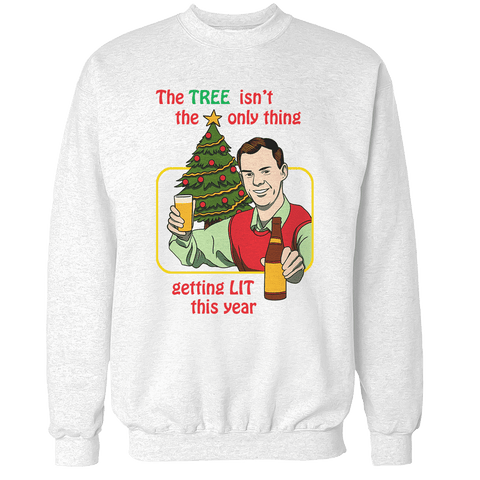 Getting Lit This Year Unisex Sweatshirt