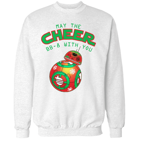 May the Cheer BB with You Unisex Sweatshirt