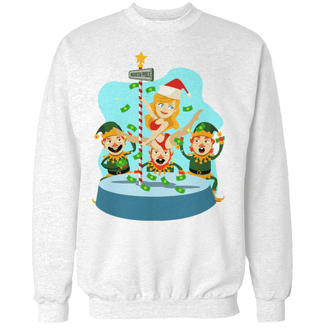 North Pole Dancing Unisex Sweatshirt