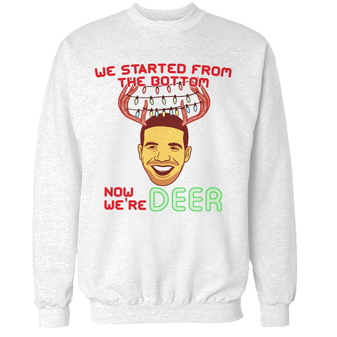 Now We're Deer Unisex Sweatshirt