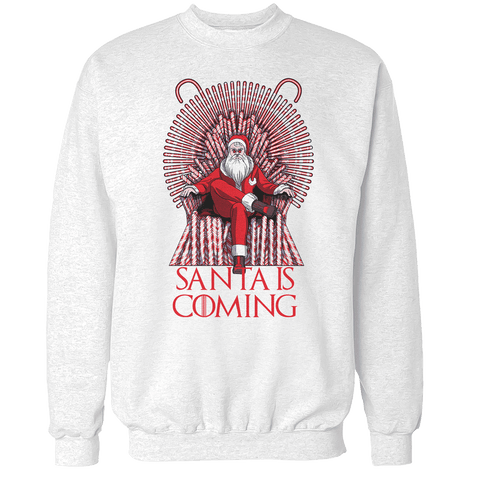 Santa is Coming Unisex Sweatshirt