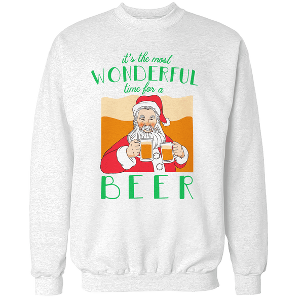 It's The Most Wonderful Time for a Beer Unisex Sweatshirt
