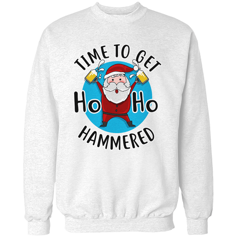 Time to get Ho Ho Hammered Unisex Sweatshirt