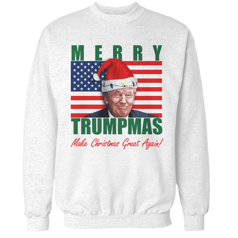 Merry Trumpmas - Make Christmas Great Again Unisex Sweatshirt