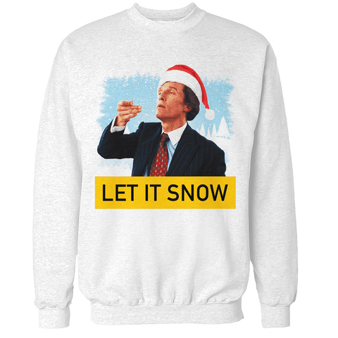 Wall Street Let it Snow Unisex Sweatshirt