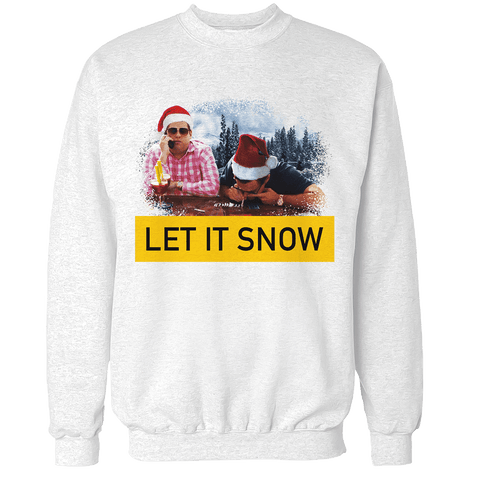 Wall Street Let it Snow V3 Unisex Sweatshirt