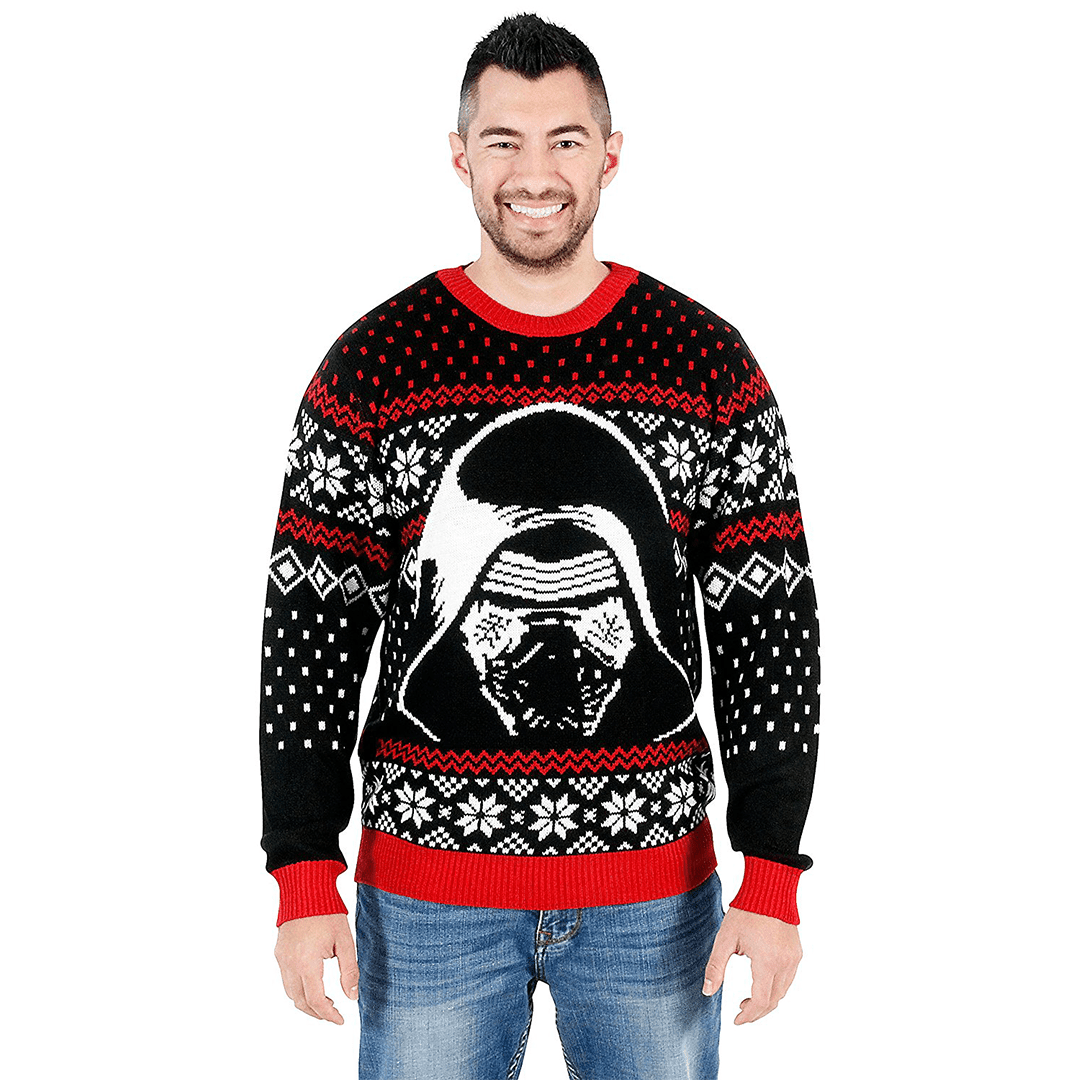 Star Wars Kylo Ren Christmas Sweater | Holiday Crush