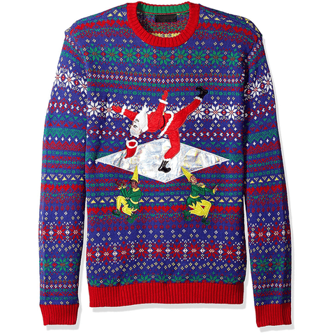 Vogue Santa Death Drops UNISEX Sweater