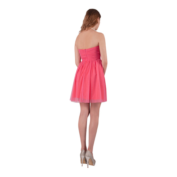 Pretty 'n' Pink Strapless Party Dress