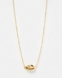Miz Casa & Co Arue Island Necklace Gold