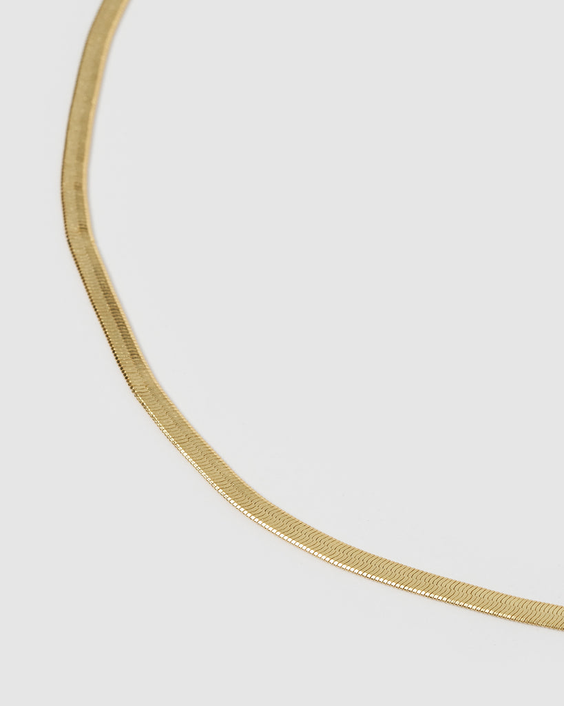 Miz Casa & Co Ala Choker Necklace Gold