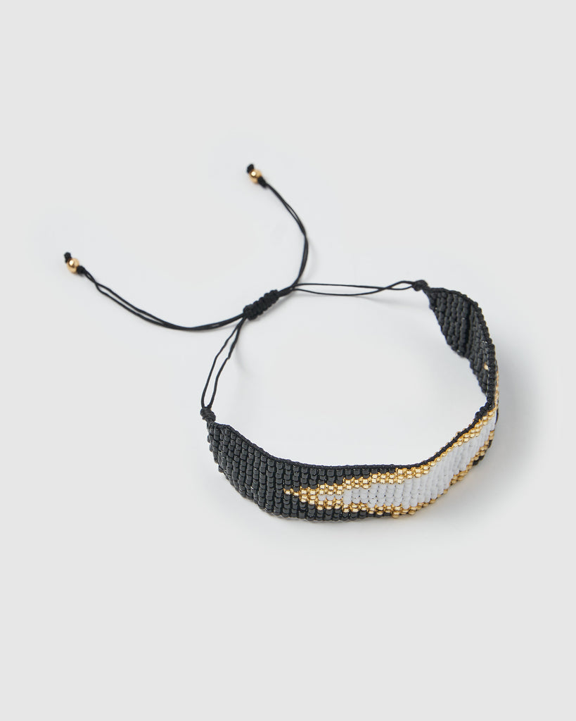 Miz Casa & Co Amelia Bracelet Black