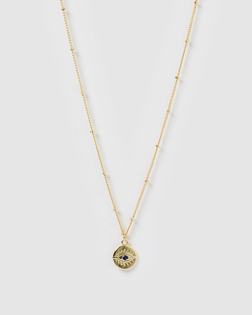 Miz Casa & Co Aegean Evil Eye Necklace