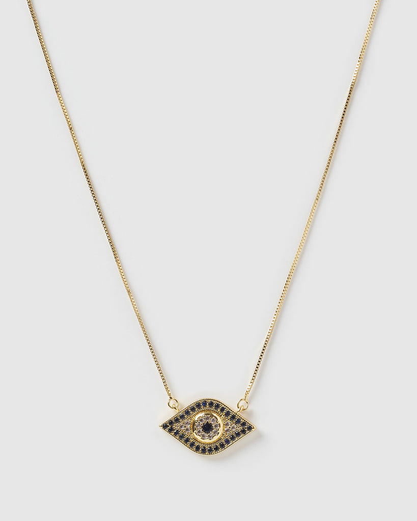 Miz Casa & Co Cleo Pendant Necklace Gold