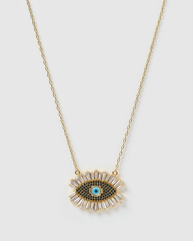 Miz Casa & Co Elli Necklace Gold