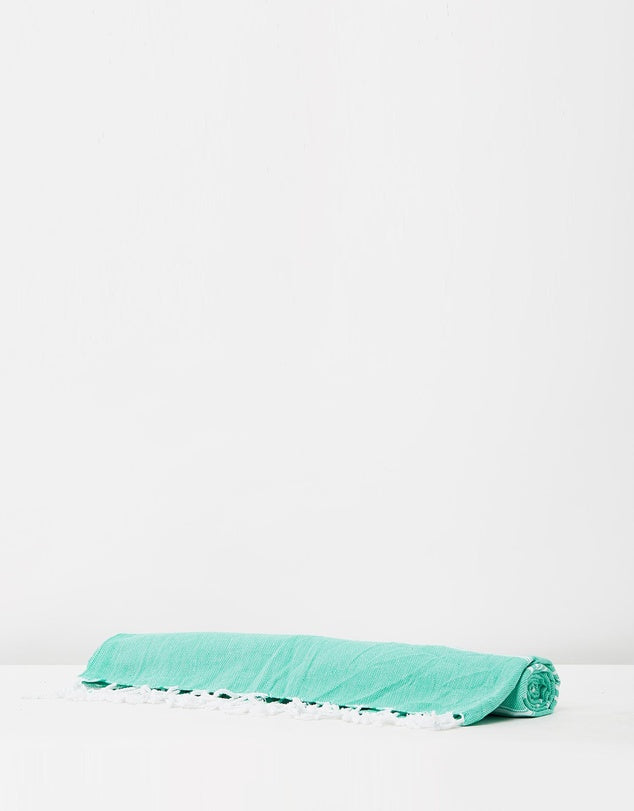 Miz Casa & Co French Riviera Turkish Towel Mint
