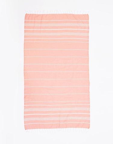 Miz Casa & Co Nice Turkish Towel Grey
